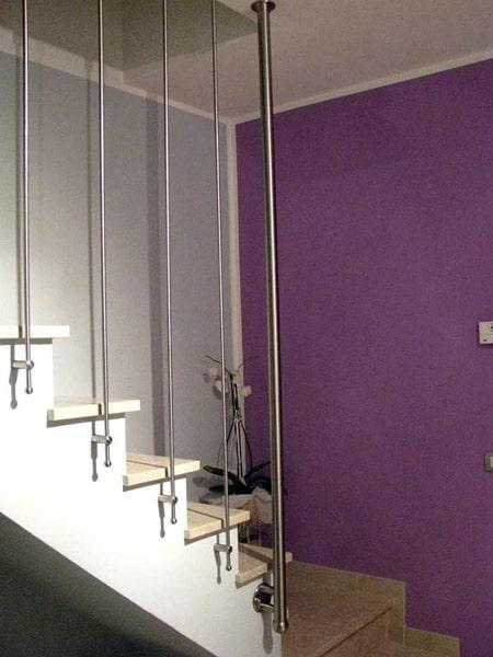 Ringhiere per scale modena sassuolo prezzo realizzazione - Ringhiere da interno moderne ...